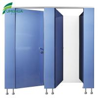 Best 2 years Hot selling water resistant compact gym club toilet cubicle partition wholesale