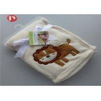 China Lovely Animal Foldable Sherpa Baby Blanket Optional Pattern Design Home on sale