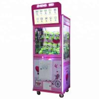 Best Arcade Game Toy Crane Claw Machine With Lcd Screen For Video Advertising wholesale