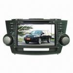 Best Car DVD Player TOYOTA Highlander Car DVD 8'' 2din HD Digital Touchscreen player (2008-2011) wholesale