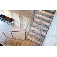 China stainless steel glass railing systems for stairs simple stair railing on sale