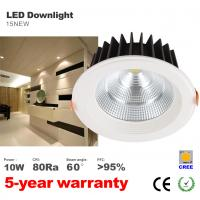 Best 10W Dimming Recessed LED Downlight CREE COB LED Spotlight home lighting wholesale