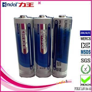 Best alkaline manganese dioxide battery lr6 1.5v cheap aa batteries price wholesale