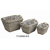 China Willow Laundry Basket (T110258) on sale