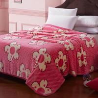 Best Twin Size /Single Size color customized  Polyester Microfiber  Waved Quilting Blanket for Adults / Kids wholesale