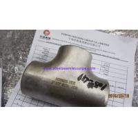 Cheap ASTM B366 Inconel 625 Tee Elbow Reducer Cross Butt Weld Fittings ANSI B16.9 , for sale