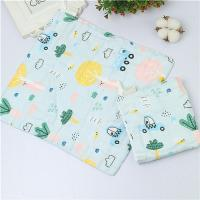 Cheap MW 012 Baby Muslin Face Washcloths 100 Cotton 6 Layer Super Soft Water Absorption for sale