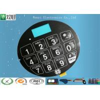 Best Blue LCD Window FPC Membrane Switch With 3M468 Back Adhesive Matte Finish wholesale