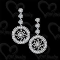 China Exquisite 925 silver earring fashion jewelry on sale
