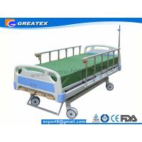 Best GT-BM1102 4-Crank Adjustable  Manual Hospital Bed Golden Supply from China wholesale