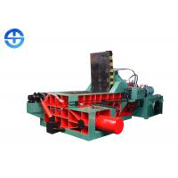 China Industry Recycling Press Machine 1250 KN Scrap Aluminum Baler Customized Bale Size on sale