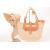 China Women Beige Raffia Beach Bag For Banquet / Party , 32cm x 41cm Raffia Handbag wholesale