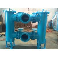 China High Pressure Duplex Filter Housing , Hydraulic Oil Filter Housing CE Approved on sale