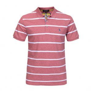 Best Custom polo logo mens striped t shirt embroidery,custom made polo t-shirt wholesale