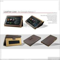 Best Litchi Skin Pattern Stand Leather Case for Google Nexus 7 P-Ggnexus7case006 wholesale