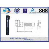 China ISO High Tensile Track Bolt 40Cr For Rail Joint Plate carbon steel on sale