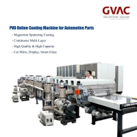 Cheap 1600mm PVD Vacuum Coating Machine / Equipment Magnetron Sputtering Horizontal Continuous for sale