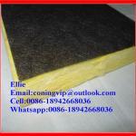 Best Fiberglass wool board with black tissue onone side wholesale