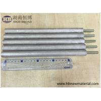 China ASTM Zinc Aluminum Anode Rod AlZn10 For Water Heater Solar Heater on sale