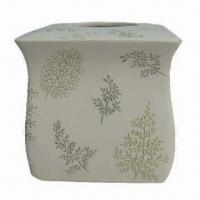 Best Polystone Tissue Holder for Bathroom, Unique Leaves, Available in Various Designs and Colors wholesale