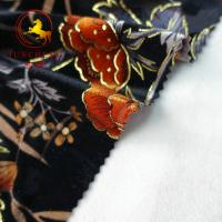 Best wholesale burnout 100% silk velvet fabric wholesale