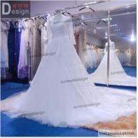 Best New Arrival Ball Gown Floor Length Long Sleeve Lace Wedding Dresses 2015 wholesale