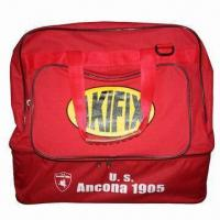 Best Athletic Bags, with Red and White Colors, Wheels and Handle wholesale