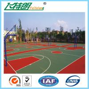 All Weather Sport Court Flooring / Acrylic Tennis Court Surface Anti Slip Floor Tiles