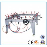 China Pneumatic mesh stretching machine for silk screen frame / Tighten net yarn screen printing machine for all  factory23 on sale