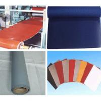 Best red white grey insulation Silicon Elastic Fabric silicone coated rubber fiberglass cloth wholesale