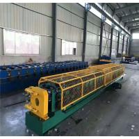 China 11kw Downspout Pipe Roll Forming Machine For House Roof 8.5m×1.05m×1.3m on sale