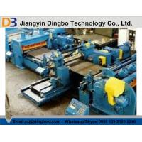 Best Metal Coil Line Machine , Steel Cut To Length Machine With Cutting Blade Cr12 wholesale