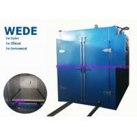 Best Blue Automatic Powder Coating Machine , Varnish Industrial Powder Coating Oven wholesale