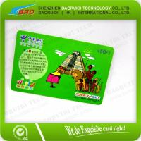 Buy cheap Eco Friendly Plastic Business Card PVC Card Printing Scratch Card from wholesalers