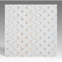 Buy cheap Hot Stamping Surface PVC Ceiling Tiles Flat Board Type Environmental Material from wholesalers