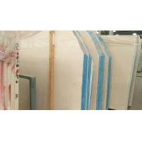 Best Seamless Honed Marble Slab Countertops , White Marble Kitchen Worktop wholesale