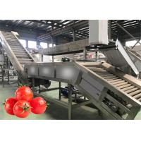 Best 1 Ton Per Hour Vegetable Processing Line Tomato Paste Making Machine Customized Voltage wholesale