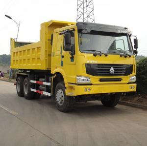 China SINOTRUK HOWO 6x4 336hp dump truck loading capacity 25 ton on sale