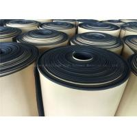 Best Black  Rubber Foam Insulating Roll High Density Adhesive 10mm Thermal Resistant wholesale