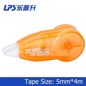 Buy cheap Orange Mini Correction Tape 4M Students Stationery W961 Correction Runner product