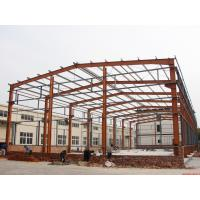 China Prefabricated Industrial Building Steel Structure Shed Lightweight Fire Resistance on sale