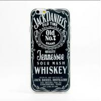 Best Whiskey Words Pattern Phone Covers Anti Scratch Case For 5.5inch Iphone 6 wholesale