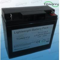 Best Durable 12V Lithium LiFePO4 Batteries18Ah For Home UPS , UPS Backup Power wholesale