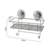 Best RED Warning suction collection kitchen storage container with hooks wholesale