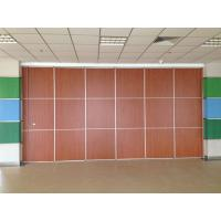 Best Thickness 65mm Sliding System Removable Wall Partition / Exhibition Acoustic Room Divider wholesale