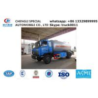 Best dongfeng brad 10,000L lpg gas delivery truck for sale, Dongfeng 190hp cooking gas transporting tank vehicle for sale wholesale