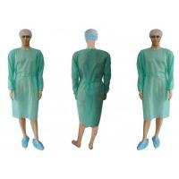 China High Quality Factory Price Disposable Bodywear  PP, SMS, PP+PE surgical Isolation Gown on sale