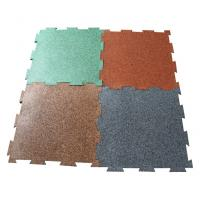 China Interlocking rubber tiles/puzzle mats on sale