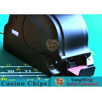 Best 100W AC Gamble Playing Card Shuffler With Intelligent Computer Chips wholesale