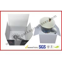 Cheap Cup Packaging Corrugated Cardboard Boxes Machine Made Promotion for sale